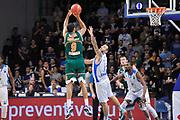 DESCRIZIONE : Eurocup 2014/15 Last32 Dinamo Banco di Sardegna Sassari -  Banvit Bandirma<br /> GIOCATORE : Sammy Mejia<br /> CATEGORIA : Tiro Controcampo<br /> SQUADRA : Banvit Bandirma<br /> EVENTO : Eurocup 2014/2015<br /> GARA : Dinamo Banco di Sardegna Sassari - Banvit Bandirma<br /> DATA : 11/02/2015<br /> SPORT : Pallacanestro <br /> AUTORE : Agenzia Ciamillo-Castoria / Luigi Canu<br /> Galleria : Eurocup 2014/2015<br /> Fotonotizia : Eurocup 2014/15 Last32 Dinamo Banco di Sardegna Sassari -  Banvit Bandirma<br /> Predefinita :