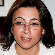 Special For LO-Tidningen.<br /> Women's general secretary Canan CAGLAYAN of the KESK , in Ankara Turkey on Monday, 13 June 2011. Photo by TURKPIX