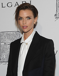 NEW YORK, NY - OCTOBER 19: Ruby Rose attends the re-opening of the Bulgari flagship store on Fifth Avenue in New York City on October 20, 2017. 20 Oct 2017 Pictured: Ruby Rose. Photo credit: JP/MPI/Capital Pictures / MEGA TheMegaAgency.com +1 888 505 6342