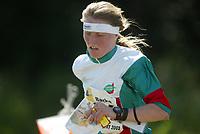 Orientering, 21. juni 2002. NM sprint. Karina Nordrum, Larvik.