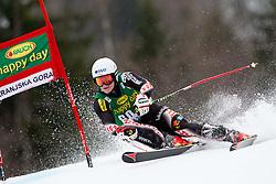 ZUBCIC Filip of Croatia during the 2nd Run of 7th Men's Giant Slalom - Pokal Vitranc 2013 of FIS Alpine Ski World Cup 2012/2013, on March 9, 2013 in Vitranc, Kranjska Gora, Slovenia. (Photo By Vid Ponikvar / Sportida.com)