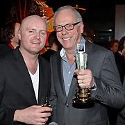 NLD/Amsterdam/20110124 - Uitreiking Beeld en Geluid awards 2010, Rolf Meter en Gerben Bakker