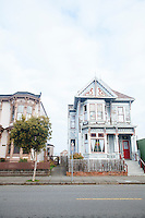 Old victorian house in Eureka, CA.