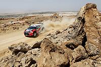MOTORSPORT - WRC 2011 - JORDAN RALLY - 14 TO 16/04/2011 - DEAD SEA (JOR) - PHOTO : FRANCOIS BAUDIN / DPPI - <br /> 11 PETTER SOLBERG (NOR) / CHRIS PATTERSON (GBR) - CITROËN DS3 WRC - PETTER SOLBERG WRT - ACTION