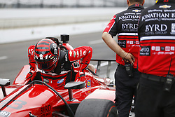May 19, 2018 - Indianapolis, Indiana, United States of America - JAMES DAVISON (33) of Australia hangs out on pit road during morning practice prior to ''Bump Day'' for the Indianapolis 500 at the Indianapolis Motor Speedway in Indianapolis, Indiana. (Credit Image: © Chris Owens Asp Inc/ASP via ZUMA Wire)