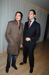 Left to right, IAIN RUSSELL and LORD FREDERICK WINDSOR at an Evening at Sanderson in Aid of CLIC Sargent held at The Sanderson Hotel, 50 Berners Street, London W1 on 15th May 2007.<br /><br />NON EXCLUSIVE - WORLD RIGHTS