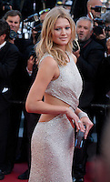Toni Garrn at the gala screening for the film The Little Prince –  Le Petit Prince at the 68th Cannes Film Festival, Friday 22nd May 2015, Cannes, France.
