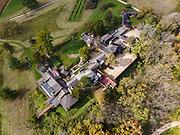 Photogrpah of Frank Lloyd Wright's Taliesin. Iowa County, near Spring Green, Wisconsin, USA.
