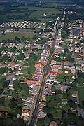 Aerial, Pennsylvania, Womelsdorf, Berks Co.