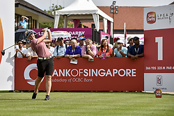 October 26, 2017 - Kuala Lumpur, Malaysia - Brooke M. Henderson of Canada during day one of the Sime Darby LPGA Malaysia at TPC Kuala Lumpur on October 26, 2017 in Kuala Lumpur, Malaysia. (Credit Image: © Chris Jung/NurPhoto via ZUMA Press)