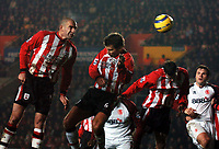 Photo: Javier Garcia/Back Page Images<br />Southampton v Middlesboro, FA Barclays Premiership, St Mary's Stadium 11/12/04<br />Danny Higginbotham's own goal makes it 2-1