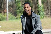 HILVERSUM, 05-03-2021<br /> <br /> Portret van Soulzanger Jeangu Macrooy, hij vertegenwoordigt Nederland dit jaar op het Eurovisie Songfestival met het nummer Birth of a new age.<br /> FOTO: Brunopress/Patrick van Emst