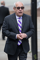 © Licensed to London News Pictures . 30/05/2015 . Manchester , UK . Malcolm Hebden arriving . A public memorial for Coronation Street actress Anne Kirkbride at Manchester Cathedral , who died on 19th January 2015 . Photo credit : Joel Goodman/LNP