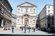 Milan, Piazza San Fedele