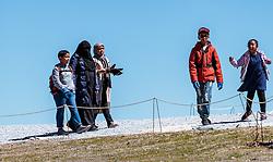 THEMENBILD - Arabische Touristen beim spazieren. Jedes Jahr besuchen mehrere Tausend Gäste aus dem arabischen Raum die Urlaubsregion im Salzburger Pinzgau, aufgenommen am 08. August 2016 in Zell am See, Österreich // Arabic Tourists take a walk. Every year thousands of guests from Arab countries takes their holiday in Zell am See - Kaprun Region, Zell am See, Austria on 2016/08/08. EXPA Pictures © 2016, PhotoCredit: EXPA/ JFK