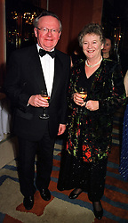 MR & MRS JOHN MacGREGOR, he is the Conservative MP  at a dinner in London on 29th February 2000.OBS 9