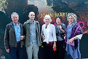 DESCENDANTS OF JOHN MARTIN: COLIN SIMPSON; MILO BRAGG; JANET SIMPSON; BARBARA MORDEN; ANNE SIMPSON,  John Martin: Apocalypse. Tate Britain. Millbank. London. 19 September 2011.<br /> <br />  , -DO NOT ARCHIVE-© Copyright Photograph by Dafydd Jones. 248 Clapham Rd. London SW9 0PZ. Tel 0207 820 0771. www.dafjones.com.