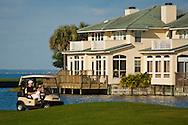 Homes and golf course at The Sandestin Golf & Beach Resort; Destin; Florida