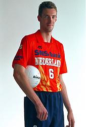 21-05-1997 VOLLEYBAL: TEAMPRESENTATIE MANNEN: WOERDEN<br /> Richard Schuil<br /> ©2007-WWW.FOTOHOOGENDOORN.NL