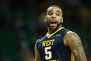 WACO, TX - MARCH 5: Jaysean Paige #5 of the West Virginia Mountaineers looks on against the Baylor Bears on March 5, 2016 at the Ferrell Center in Waco, Texas.  (Photo by Cooper Neill/Getty Images) *** Local Caption *** Jaysean Paige