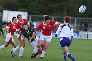 IRB Womens rugby world cup, day 2 at Surrey Sports park, Surrey university, Guildford on Tuesday 24th August 2010.  Wales v South Africa