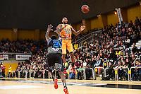 Jean Michel MIPOKA / Darnell HARRIS - 07.12.2014 - Orleans / Rouen - 11eme journee de Pro A<br />Photo : Fred Porcu / Icon Sport