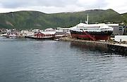 Stokmarknes, Hadsel municipality, Hadseloya island, Nordland, Vesteralen region, northern Norway