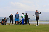 Colin Woodroofe on the 12th tee during Round 4 of The West of Ireland Open Championship in Co. Sligo Golf Club, Rosses Point, Sligo on Sunday 7th April 2019.<br /> Picture:  Thos Caffrey / www.golffile.ie