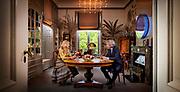 DEN HAAG, 07-05-2021, Paleis Huis ten Bosch<br /> <br /> Koningin Maxima in gesprek met Matthijs van Nieuwkerk tijdens een interview ter gelegenheid van haar vijftigste verjaardag.Het gesprek vond plaats op de werkkamer van Koningin Máxima op Paleis Huis ten Bosch op 7 mei 2021. Brunopress/POOL/Koen van Weel