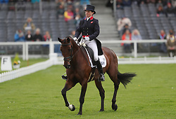 Piggy French on Vanir Kamira in the dressage during day two of the 2019 Mitsubishi Motors Badminton Horse Trials at The Badminton Estate, Gloucestershire.