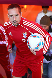 29.10.2011, Allianz Arena, Muenchen, GER, 1.FBL,  FC Bayern Muenchen vs 1. FC Nuernberg, im Bild  Franck Ribery (Bayern #7) betritt das Stadion// during the match FC Bayern Muenchen vs 1. FC Nuernberg, on 2011/10/29, Allianz Arena, Munich, Germany, EXPA Pictures © 2011, PhotoCredit: EXPA/ nph/  Straubmeier       ****** out of GER / CRO  / BEL ******