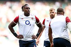Maro Itoje of England - Rogan/JMP - 24/08/2019 - RUGBY UNION - Twickenham Stadium - London, England - England v Ireland - Quilter Series.