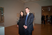 LUCIA HUNT; JEREMY HUNT,Picasso and Modern British Art, Tate Gallery. Millbank. 13 February 2012