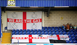 Bristol Rovers fans - Photo mandatory by-line: Neil Brookman/JMP - Mobile: 07966 386802 - 22/11/2014 - Sport - Football - Chester - Deva Stadium - Chester v Bristol Rovers - Vanarama Football Conference