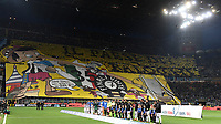 Atmosphere Inter supporters and team line up Coreografia <br /> Milano 28-04-2018 Stadio Giuseppe Meazza in San Siro Football Calcio Serie A 2017/2018 Inter - Juventus Foto Andrea Staccioli / Insidefoto