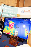 24/11/2019 repro free:  heat sensor demo at the GMIT stand  at the Galway Science and Technology Festival  at NUI Galway where over 20,000 people attended exhibition stands  from schools to Multinational Companies . Photo:Andrew Downes, xposure