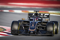 February 18, 2019 - Barcelona, Spain - 08 GROSJEAN Romain (fra), Haas F1 Team VF-19 Ferrari, action during Formula 1 winter tests from February 18 to 21, 2019 at Barcelona, Spain - Photo Motorsports: FIA Formula One World Championship 2019, Test in Barcelona, (Credit Image: © Hoch Zwei via ZUMA Wire)