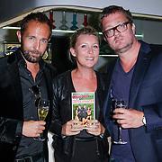 NLD/Amsterdam/20120917- Boekpresentatie Liefdespanter, Marcel Langedijk, Saskia Noort en Jan Heemskerk