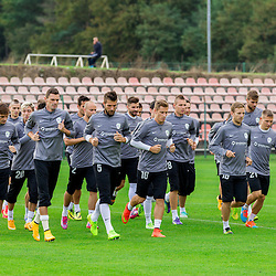 20141008: SLO, Football - Press conference and practice session of Slovenian National Team in Ptuj