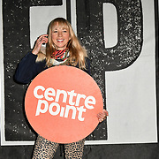 Sara Cox join Sleep Out fundraiser to help homeless young people at Greenwich Peninsula Quay on 15 November 2018, London, UK.
