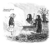 'Margaret's off sick. I'm the temp'