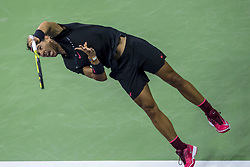 August 31, 2017 - New York, New York, USA - AUG 31, 2017: Rafael Nadal (ESP) during the 2017 U.S. Open Tennis Championships at the USTA Billie Jean King National Tennis Center in Flushing, Queens, New York, USA. (Credit Image: © David Lobel/EQ Images via ZUMA Press)