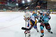 19.03.2011, Rapperswil-Jona, Eishockey NLA Playout, Rapperswil-Jona Lakers - HC Ambri-Piotta, Sandro Gmuer (LAK)   (Thomas Oswald/hockeypics)