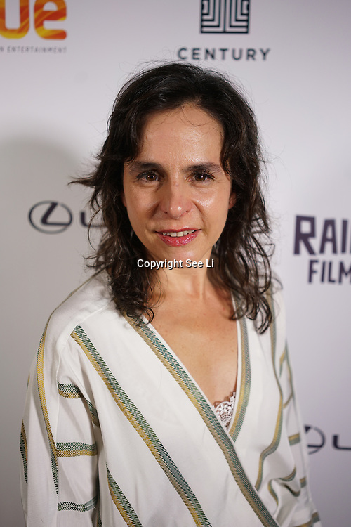 London, England, UK. 25th September 2017. Director Laura Plancarte of Siblings attend Raindance Film Festival Screening at Vue Leicester Square, London, UK