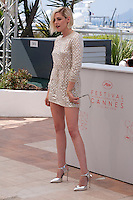 Actress Kristen Stewart at the Personal Shopper film photo call at the 69th Cannes Film Festival Tuesday 17th May 2016, Cannes, France. Photography: Doreen Kennedy