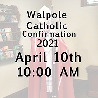 Blessed Sacrament Confirmation 04-10-21 1000 AM