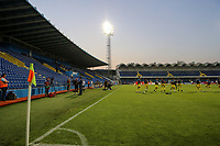 PODGORICA, MONTENEGRO - JUNE 07: Kosovo warm-up before the 2020 UEFA European Championships group A qualifying match between Montenegro and Kosovo at Podgorica City Stadium on June 7, 2019 in Podgorica, Montenegro MB Media