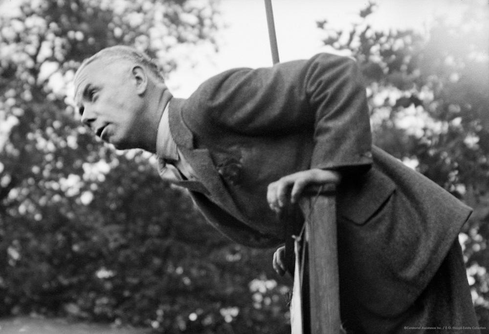 Hyde Park Orator, London, 1934