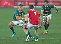 Rugby Union - 2021 British & Irish Lions Tour of South Africa - Second Test: South Africa vs British & Irish Lions<br /> <br /> Handre Pollard, at Cape Town Stadium, Cape Town.<br /> <br /> COLORSPORT / JOHAN ORTON
