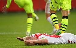 17-09-2015 NED: UEFA Europa League AFC Ajax - Celtic FC, Amsterdam<br /> Ajax heeft in zijn eerste duel in de Europa League thuis moeizaam met 2-2 gelijkgespeeld tegen Celtic / Davy Klaassen #10